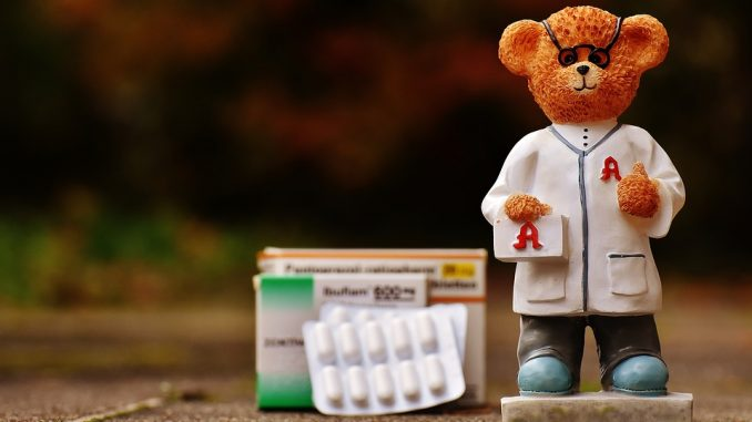 pharmacist. digital prescription, medication