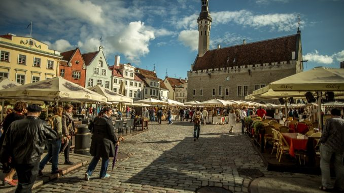 tallinn, estonia, tourist