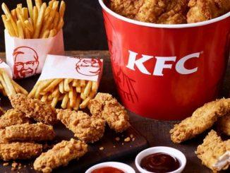 1st KFC restaurant in Tallinn