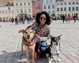 interview with Michelle Bell living in Estonia
